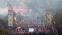 «Nous voulons Dieu!»: le mot d'ordre de la Marche de l'Indépendance organisée à Varsovie, en Pologne, le 11 novembre prochain