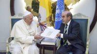 A l'ONU, le pape François parle contre la faim mais pour la migration