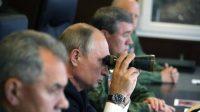 La Russie a procédé au lancement de quatre missiles balistiques intercontinentaux au cours de manœuvres dirigées par Poutine
