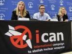 Le prix Nobel de la paix attribué à l'ICAN, la Coalition internationale pour l'abolition de l'arme nucléaire
