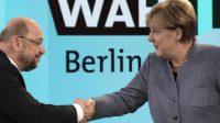 Allemagne: Merkel et Schulz vers une grande coalition pour mater le vote populaire