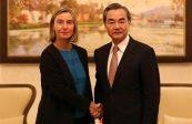Federica Mogherini, «ministre des affaires étrangères» de l'UE, veut renforcer le partenariat de l'Union avec l'Asie au nom de la gouvernance globale