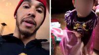 Lewis Hamilton, champion de Formule1, au pilori pour avoir critiqué son neveu habillé en princesse