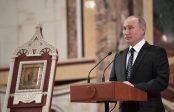 Poutine veut une collaboration plus étroite avec l'Eglise orthodoxe russe