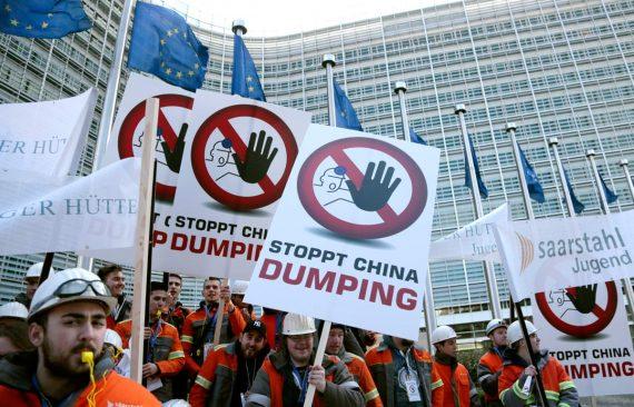 Union européenne droits douane dumping chinois