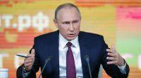 Vladimir Poutine, candidat «indépendant» à la prochaine élection présidentielle en Russie