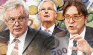 Un Brexit dur se soldera par un gain de 730 milliards d'euros pour le Royaume-Uni et une perte de 570 milliards pour l'UE, selon une étude