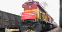 Nouveau lien ferroviaire et maritime de fret entre la Chine et l'Europe