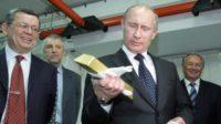 La banque centrale russe a ajouté 9,3 tonnes d'or à ses réserves en décembre
