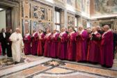 Discours à la Rote romaine: le pape François porte la conscience au pinacle (et dénonce ceux qui s'accrochent à la tradition…)