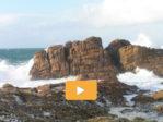 Les rochers de Saint Guénolé: « La carte postale » de reinformation.tv et de gros succès d'audiences