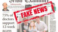 """""""Fake news"""": un sondage bidon affirmant que 75% des médecins en Irlande sont pour l'avortement a dû être retiré"""