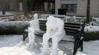 Grand froid pour cause de réchauffement climatique accru: l'outrecuidance des alarmistes du climat