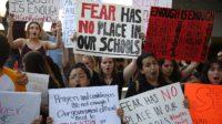Etats-Unis – Hommage aux morts de Parkland ou manifestations d'élèves contre le droit de posséder des armes à feu?