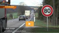 REPORTAGE: La limitation de vitesse à 80 km/hsur les routes: un projet nocif pour les Français, la France et son économie
