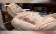 Une sculpture 3D de Jésus-Christ à partir du Saint Suaire