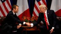 Macron le chouchou du mondialisme et Trump le cancre: copains comme cochon mais ennemis à mort