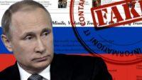 """La Russie contre les """"fake news"""": les utilisateurs qui les diffusent, bientôt personnellement responsables?"""