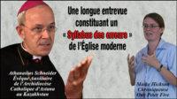 Union homosexuelles, Alfie Evans, ordination de femmes, communion avec les protestants…: Mgr Athanasius Schneider dénonce un «Syllabus des erreurs de l'Eglise»