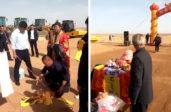 L'Académie chinoise des sciences présente ses excuses après une cérémonie taoïste lors de l'inauguration d'un projet nucléaire dans la province de Gansu