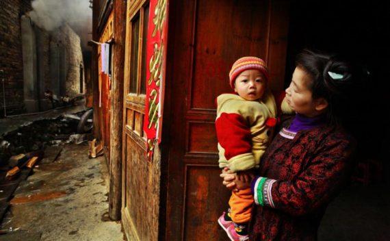Chine chute population active démographes