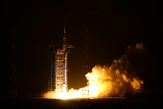 Chine nouveau satellite observation environnementale Terre