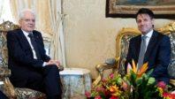 Conte et Matarella jouent au chat et à la souris dans le fromage du gouvernement italien