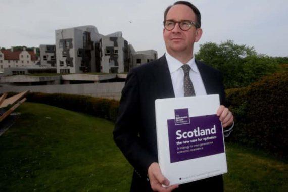 Parti National écossais migrants regonfler économie