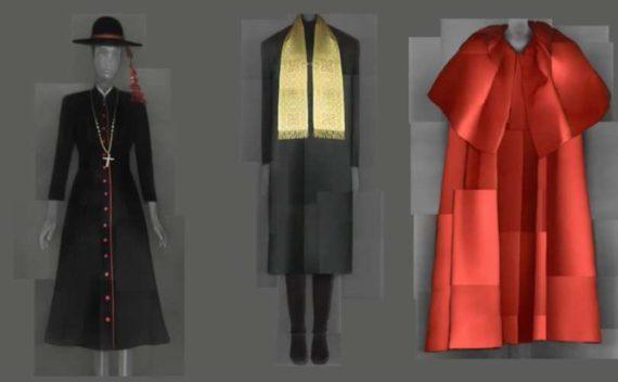 Vatican défilé mode Fellini