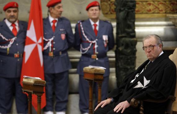 chevaliers Malte demandent démission Grand chancelier Albrecht von Boeselager