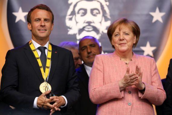 prix Charlemagne rêveur Macron