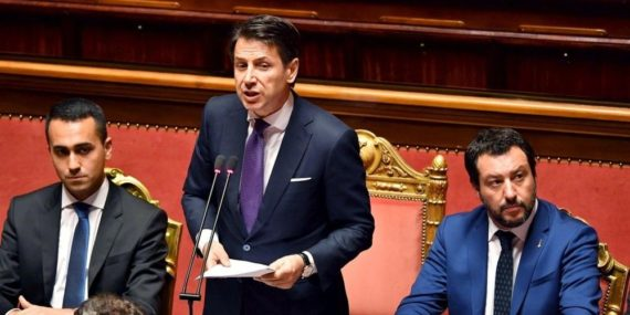Conte Di Mais Salvini Epouvantail Mondialistes