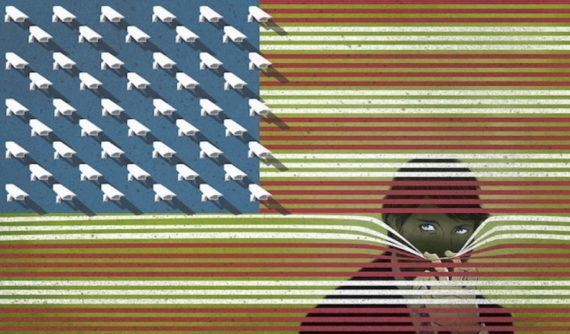 Etats Unis fédéral surveillance GAFA