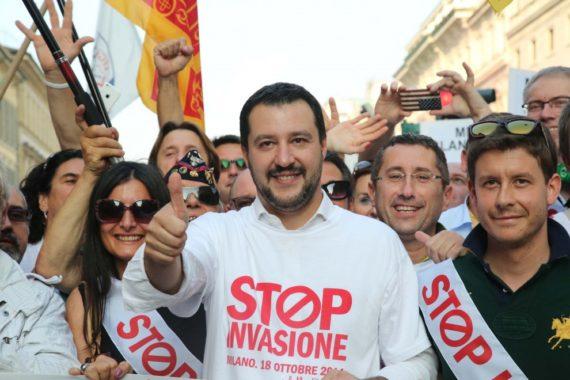 Italie migrants immigration illégale Salvini Ligue