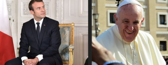 Macron Pape Francois Migrants Sainte Alliance 3