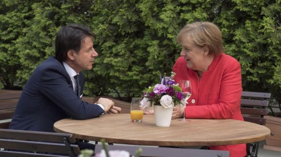 Merkel Conte Immigration Stop Encore Cohérence