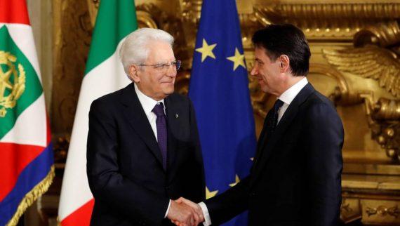 Négociations italie Mattarrella accepte Conte Premier ministre