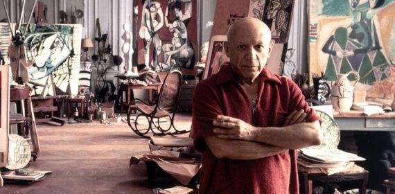Picasso amantes avortement peinture