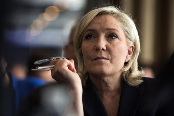 Rassemblement National Marine Le Pen Front Coulé Raté