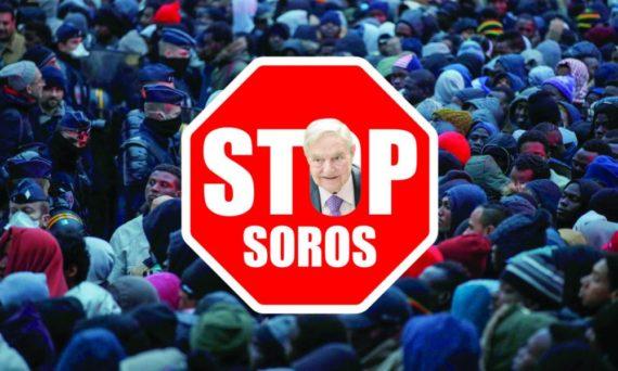 Stop Soros Hongrie ONG immigration illégale