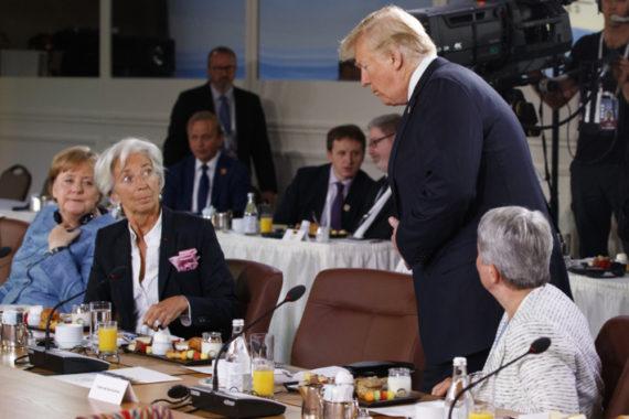 Trump Mauvais Sauvage Bouscule Nouvel Ordre Mondial