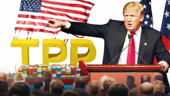 Trump TPP Etats Unis Chine Russie