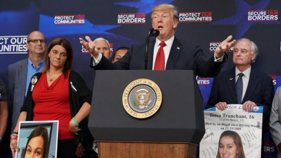 Trump renvoyer clandestins sans jugement