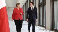 UE: Angela Merkel freine les ambitions fédéralistes d'Emmanuel Macron