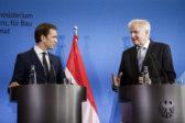 Sebastian Kurz veut former un axe Autriche-Italie-Allemagne contre l'immigration illégale avec le soutien d'autres pays