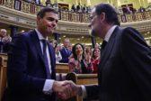 Censure du gouvernement Rajoy, Sánchez nommé Premier ministre sans gagner d'élections grâce au soutien de ceux qui n'aiment pas l'Espagne