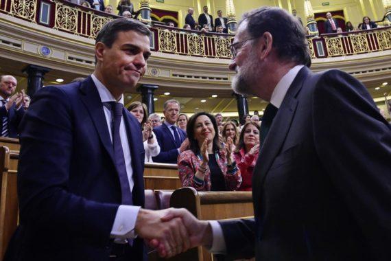 gouvernement censure Rajoy Sánchez Premier ministre Espagne