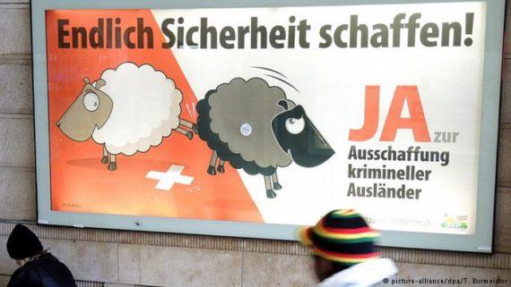 moitié criminels étrangers Suisse ordres expulsion effet nouvelle loi