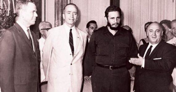 mondialistes CFR pouvoir Castro Cuba communiste