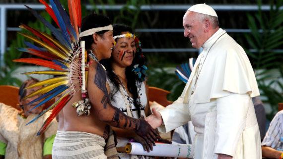 pape François kabbale communautés autochtones